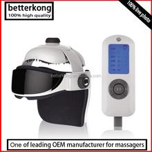 BK303 eye head massager eye relax massager head massage helmet