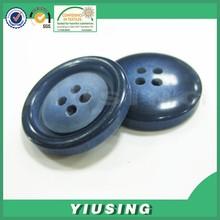 mixed color 4 hole large garment plastic button for ladies coat