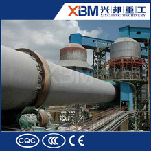 Horno rotatorio de hidróxido de calcio