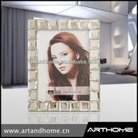 glass block picture frames, transparent clear glass picture frame1212-002