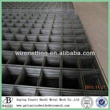 iron bar welded concrete reinforcing steel mesh (manufacturer)
