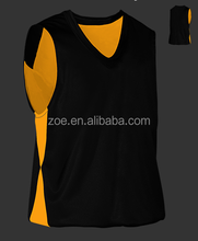 custom sublimated basketball jersey for player