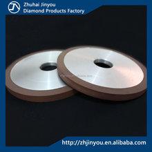 Resin bonded diamond grinding wheel for carbide