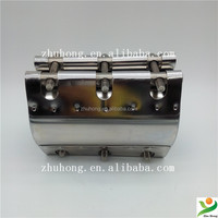 rcd-l stainless steel tapping sleeve pipe joint rubber sealing quick repair clamp