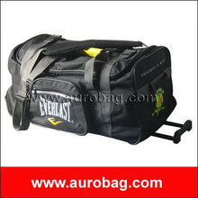 LB8480 fashionable polyester duffel bag with trolley