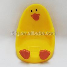 plastic duck handset seat, mobile phone holder