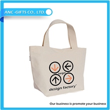 logo printed promotional eco cotton tote bags