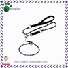 Special Dog Chain Leash with Collar having Nylon Handle