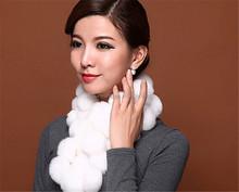 hand knitting yarn fur/fur neck collar scarf faux fur collar pearl necklace/fashion real fur scarf