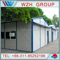 low cost portable house for worker dormitory/ prefabricated house/prefab home