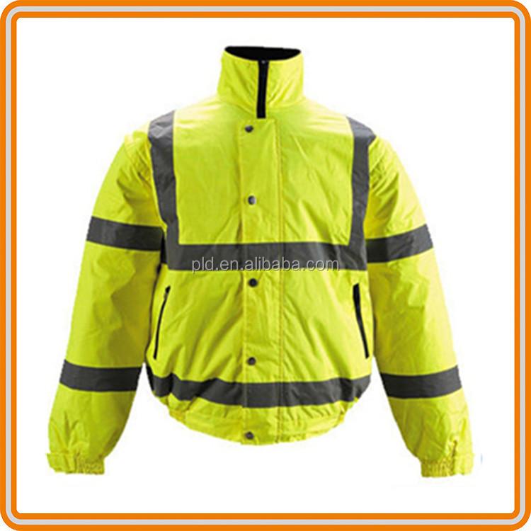 Bulk wholesale clothing hi vis safety work jackets for Wholesale high visibility shirts