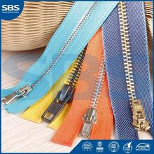SBS brand zipper ,zipper for shoes,Brand new 9# plastic zipper close-end for suits