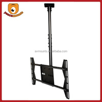 Supports display 32''-52'' weighing up to 125lbs with VESA 400x600 360 degrees rotate drop down tv ceiling mount