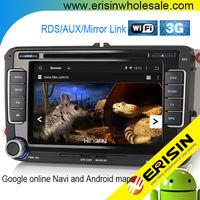 Erisin ES2698V 7 Inch 2 Din Android 4.4.4 Auto Radio Car DVD for Jetta