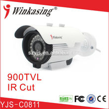 convert ip camera in analog Hot new products for 2015 12v led light IR cut wide angle lens cctv analog camera YJS-C0711