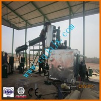 used in black engine oil,Crude oil and plastic oil, to get gasoline and diesel oil through catalyst distilled
