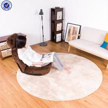 Anti-slip washable shaggy floor children carpet