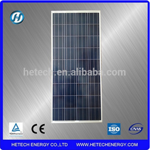 Chinese photovoltaic panel price Poly 130w thermodynamic solar panel for sale