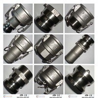 Stainless Steel Camlock Quick Coupling Type A B C D E F DC DP