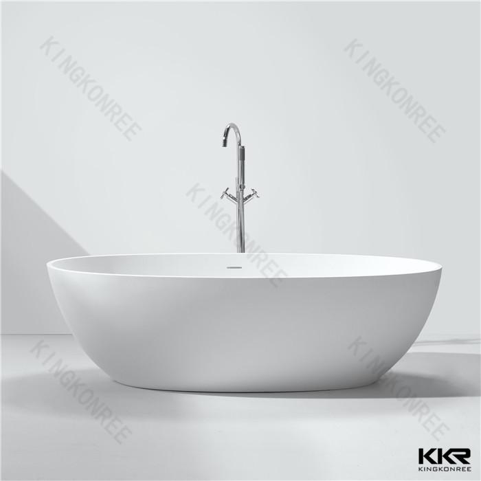 Artificial Marble 4 Foot Bathtub,Stand Alone Bathtub - Buy Marble ...