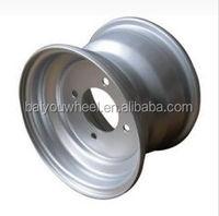 8inch ATV wheel with 4bolt holes 4*100 4*101.6PCD 8*3.75''