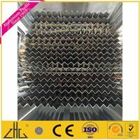 Wow!!OEM aluminium extrusion 6063 6061 factory/ aluminium angle tile trim/ powder coating white, mill finish aluminium angle bar