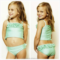 Hot Summer cute green Bathing suit , baby swimwear, kids swimsuit girls