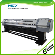 3.2m digital solvent printing machine canvas printers for sale polaris solvent printer