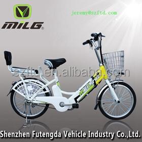 2016 nova chegada 48 V de lítio bicicleta elétrica para uma família