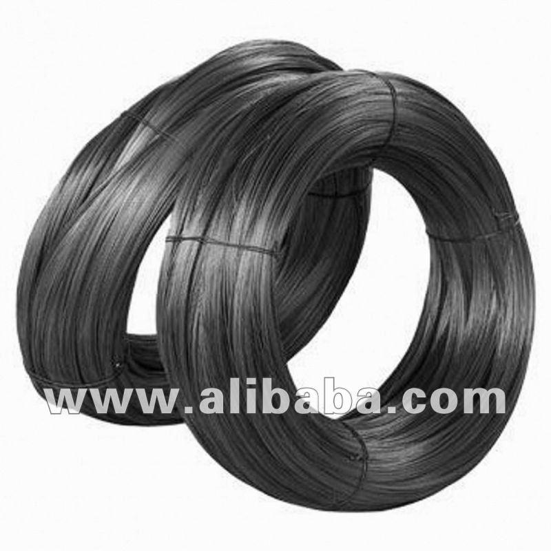 steel wires black galvanized fil de fer noir galvanise buy steel wire black galvanized product. Black Bedroom Furniture Sets. Home Design Ideas
