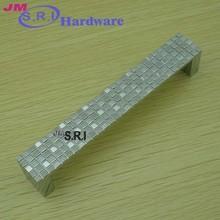 Hot sale rectangle shape zinc alloy bedroom furniture hardware drawer handles
