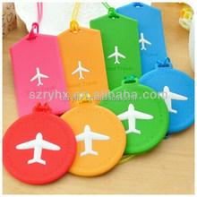 wholesale colorful custom logo printed pvc travel luggage tag