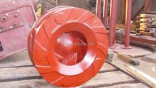 steel impeller for metallurgy