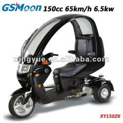 EEC/DOT Top Roof 150cc 3-wheels scooter