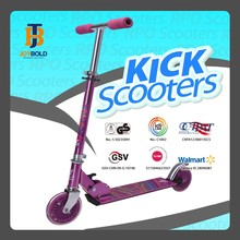 2 wheels Alu Folding Kick mini electric gas scooter supplier approved by BSCI JB201A