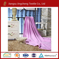 Coral fleece blanket with solid color 100% polyester with cheap price ,wholesale
