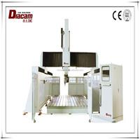 China Jaingsu Diacam 2513*5 strong cutting strength ceramic wood tile cnc router machine