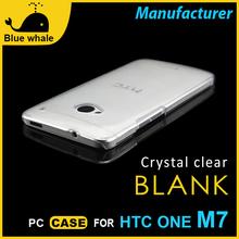 Ultra-delgada venta de carcasas para celulares funda htc one m7