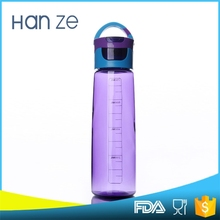 Top sale high quality purple color water bottle