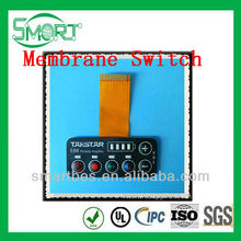 Smart Bes~ High Quality Custom Silicon Button membrane switch metal don and without metal done is ok ,silicone switch button,