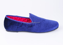 men's velvet smoking slipper loafer