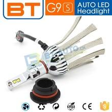 High Glass Driver and Fanless LED Headlight Kit H7 H11 LED Headlight Bulbs