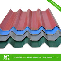 Cheap direct light weight supply roof tiles asian style