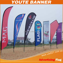 Beach Flag for Sport Events, Promotion and Exhibition Display
