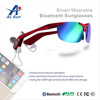 2015 ALSun new fashion wireless stereo bluetooth headset with sunglasses