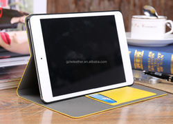 Slim Leather Flip Wallet Card Stand Case Cover For Ipad Mini 3