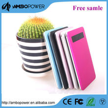 Super slim mobile power bank with indicator 4000mah for travel