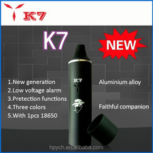 2015 New private product electronic cigarette dry herb rex vaporizer K7