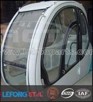 SK200-5 Excavator Cabin Driving Cab with glass and door