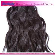 wholesale factory price natural color unprocessed brazilian hair weaving brazilian human hair drawstring ponytail